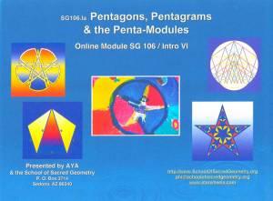 SG106 Pentagons, Pentagrams & the Penta-Modules